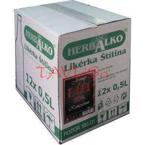 Líh Konzumní 80% 0,5l x12 ks Jemný Herba Alko