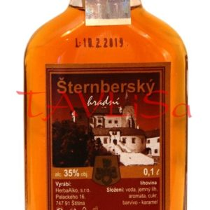 Tuzemák Šternberský hradní 35% 0,1l placatice