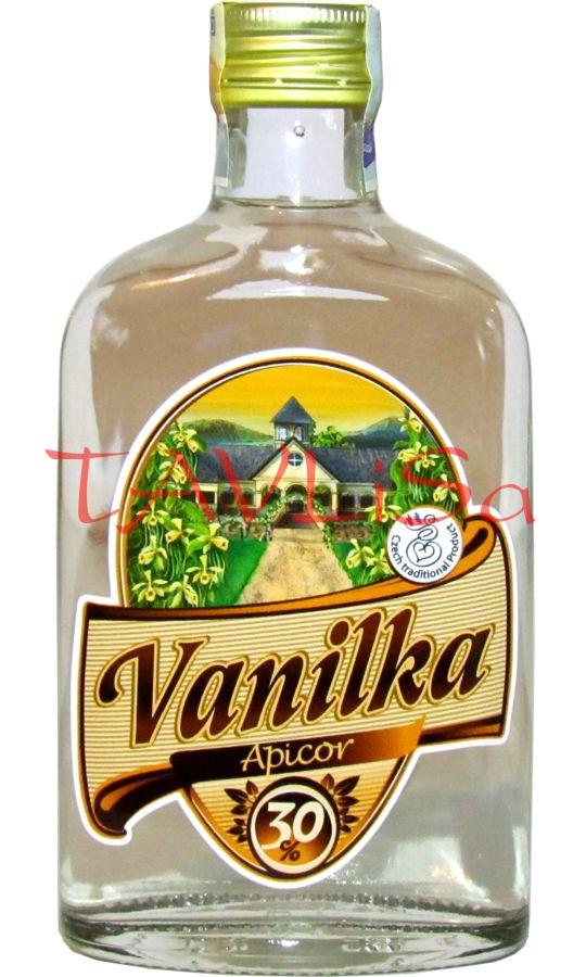 Vanilka Likér 30% 0,2l Apicor Placatice
