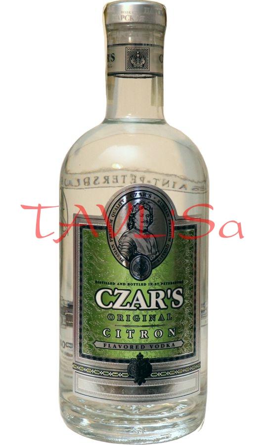 Vodka Czars Original Citron 40% 0,7l