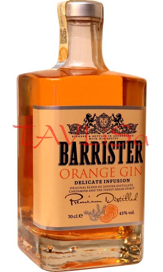 Gin Orange Barrister 43% 0,7l Ladoga