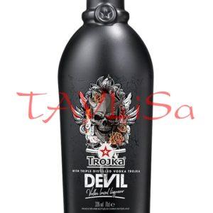 Trojka Devil Vodka Liqueur 33% 0,7l etik2