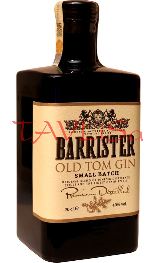 Gin Old Tom Barrister 40% 0,7l Ladoga
