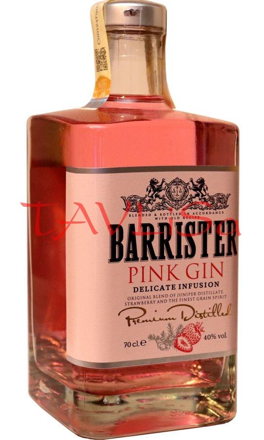 Gin Pink Barrister 40% 0,7l Ladoga