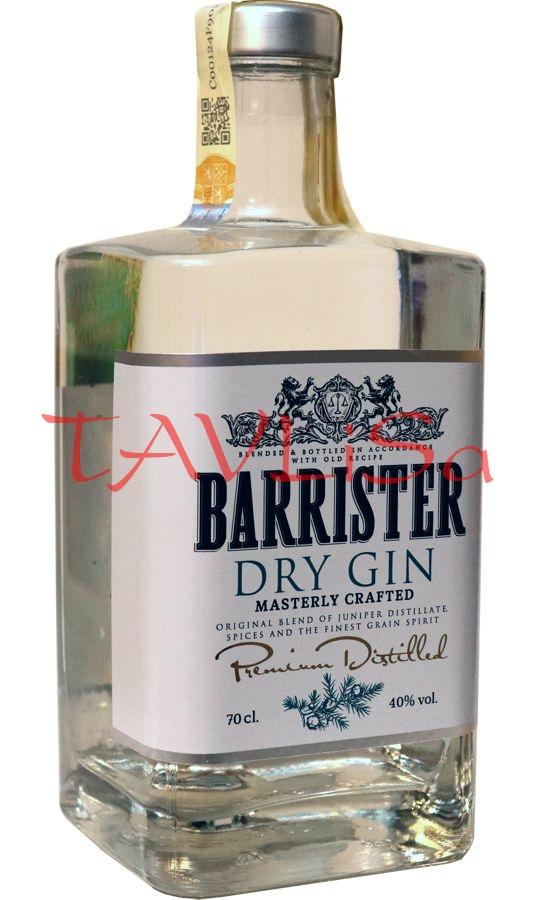 Gin Dry Barrister 40% 0,7l Ladoga